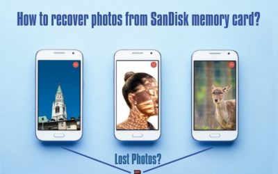 How to recover deleted photos from SanDisk memory card?