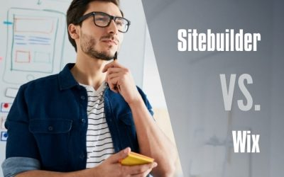 Head to Head Website Builders: SiteBuilder vs Wix