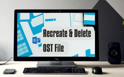 Recreate and Delete OST File in Various Versions of Outlook