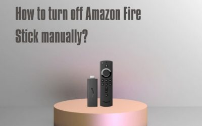 How to Turn off Amazon Fire Stick Manually?