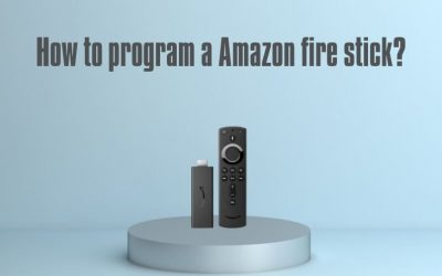 How to program a Amazon fire stick?